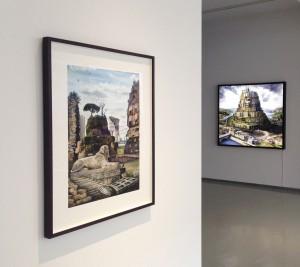 In Ruins II - 'Gloria Mundi', Galerie Rothamel, Frankfurt
