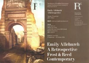 Emily Allchurch: A Retrospective