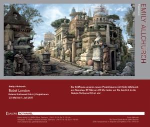Galerie Rothamel Invitation