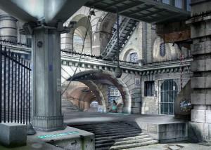 Urban Chiaroscuro No.2: London (after Piranesi)