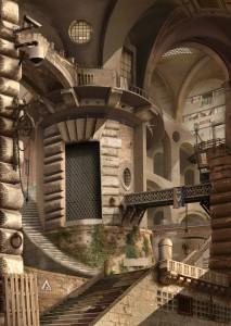 Urban Chiaroscuro No.3: Rome (after Piranesi)