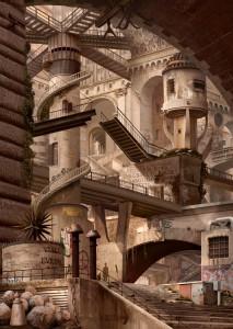 Urban Chiaroscuro No.4: Rome (after Piranesi)