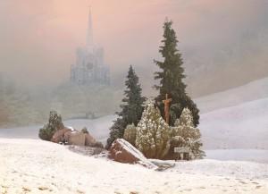 Winter Landscape (after Friedrich) 2004