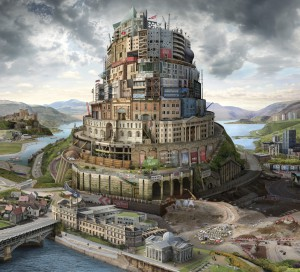 Babel Britain (after Verhaecht) 2017