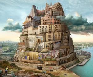 Babel London (after Breugel) 2015