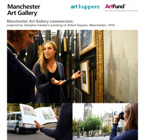 Manchester Art Gallery Commission / Art Happens / ArtFund