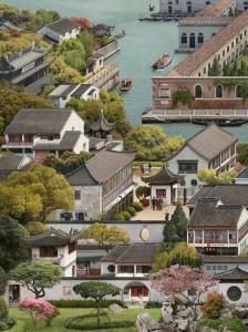 Suzhou Twinned with Venice (after Xu Yang) (2021)